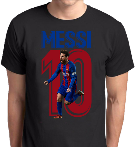 Lionel Messi Fashion Apparel Clothing Men Women Custom Print Direct to Garment Kuwait
