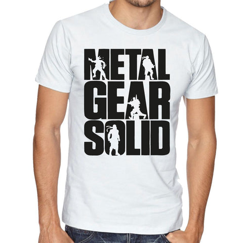 Metal Gear Solid White T-Shirt