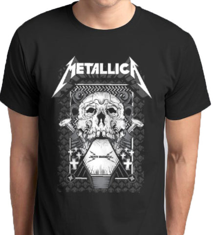 Metallica Death Magnatic T-Shirt music heavy metal rock Kuwait Anbro2 Saudi Arabia Qatar Bahrain Oman United Arab Emirates Qatar men women