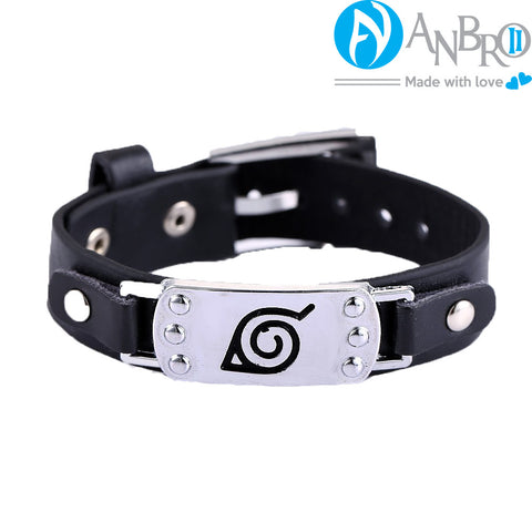 Naruto Leather Bracelet