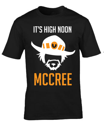 Overwatch Mccree It's High Noon T-Shirt
