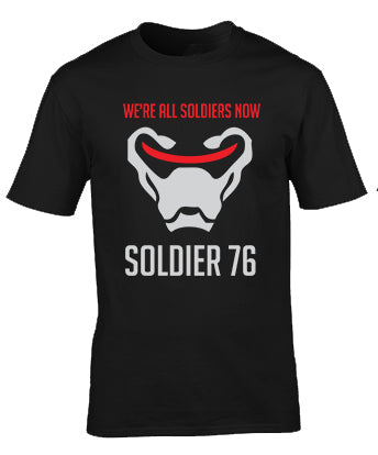 Overwatch Soldier 76 We Are Soldiers T-Shirt