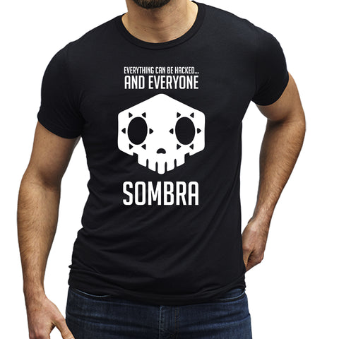 Overwatch Sombra Everyone Can Be HackedT-Shirt