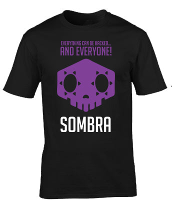 Overwatch Sombra Everyone Hacked T-Shirt