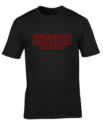 Stranger Things Custom printed Tshirt Clothing Men Women Apparel Fashion TV Series