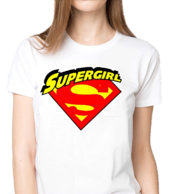 1ea04da1 I am a Supergirl Custom Printed T-Shirt Women Fashion Apparel Clothing