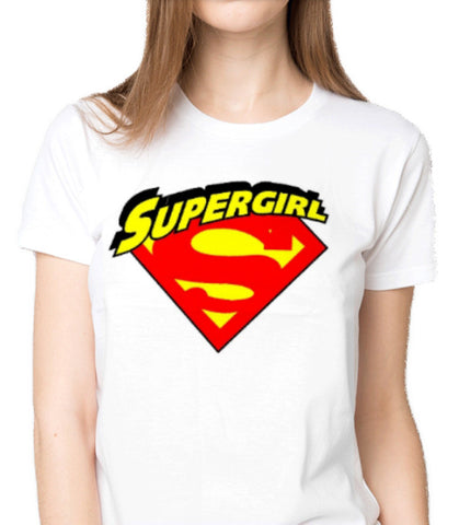 I am a Supergirl Custom Printed T-Shirt Women Fashion Apparel Clothing