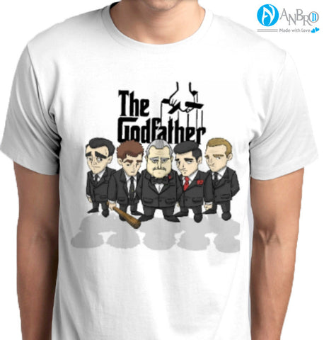 The God Father Custom Printed T-Shirt - ANBRO2 Kuwait Saudi Arabia KSA Bahrain Qatar United Arab Emirates UAE Oman Fashion Apparel Clothing men women online