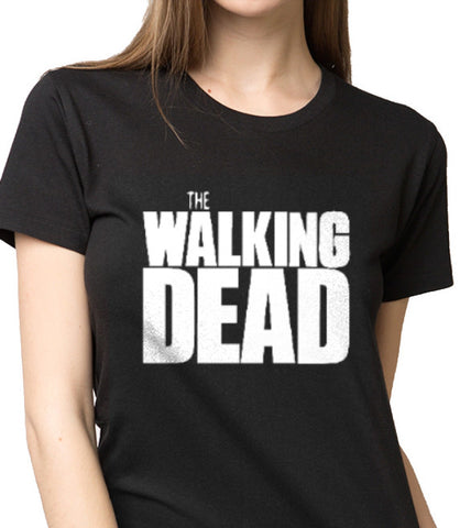 The Walking Dead Custom Printed T-Shirt Women Fashion ANBRO2 Kuwait