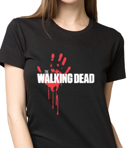 The Walking Dead Blood Hand T-shirt