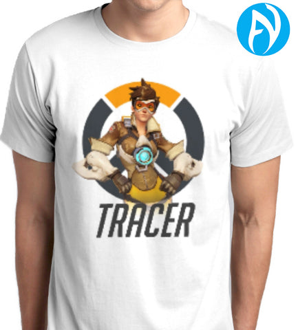 Overwatch Tracer White T-Shirt