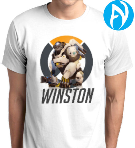 Overwatch Winston White T-Shirt