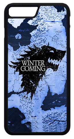 Winter is Coming Mobile Cover Game of Thrones Custom printed Mobile Cover ANBRO2 Kuwait Rubber edges