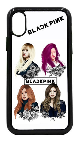 Black Pink 3 Mobile Cover