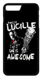 The Walking Dead Lucille is Awesome Mobile Cover