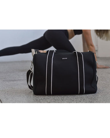 Alexis (Black) Gym Active Wear Neoprene Bag