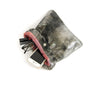 Alexa Black Matte - Fold Over Clutch - Lara B. Designs, Inc.