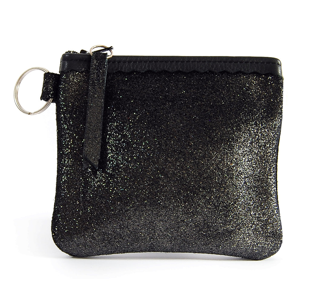 Alfie Black Sparkle - Pouch - Lara B. Designs, Inc.