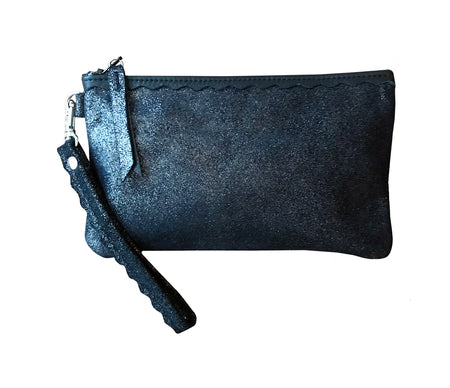 Allie Wallet Midnight Navy Sparkle - Wristlet - Lara B. Designs, Inc.