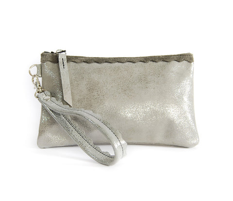 Allie Wallet Silver Platinum - Lara B. Designs, Inc.