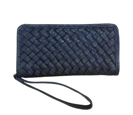 Avery Navy - Wristlet - Lara B. Designs, Inc.