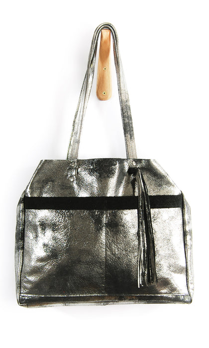 Bella Nouveau Black Platinum - Tote Bag - Lara B. Designs, Inc.