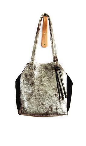 Scout Tote Brown Platinum - Tote Bag - Lara B. Designs, Inc.