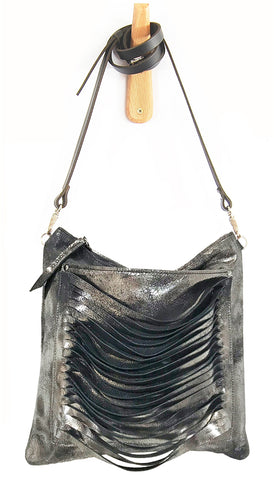 Cleo Black Platinum - Crossbody - Lara B. Designs, Inc.