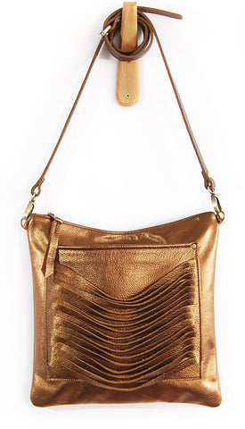 Cleo Bronze Pearl - Crossbody - Lara B. Designs, Inc.