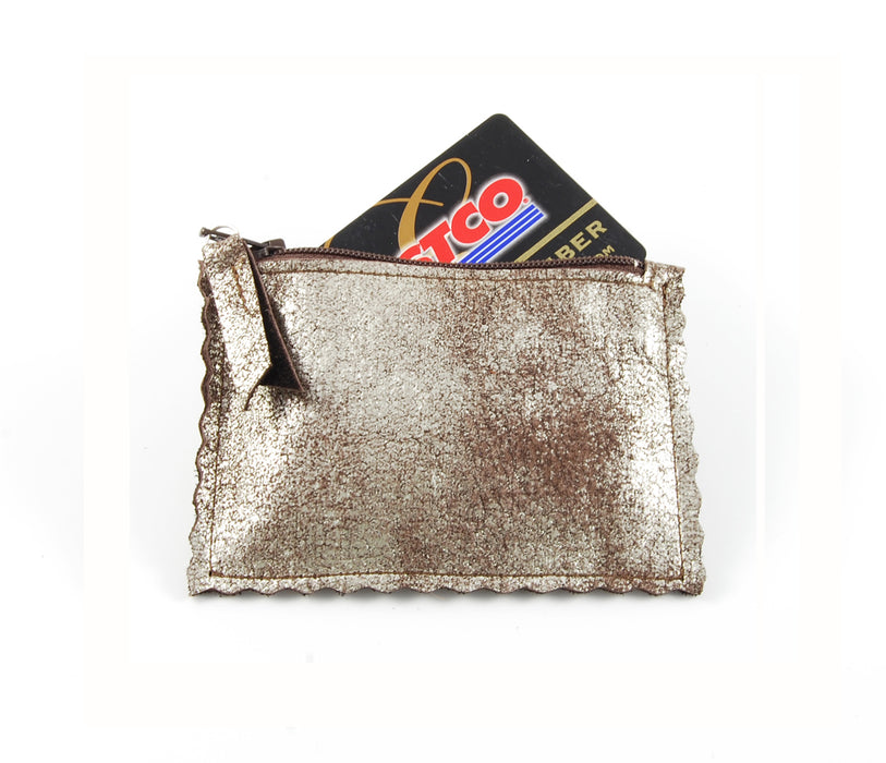 Coco Brown Platinum - Pouch - Lara B. Designs, Inc.