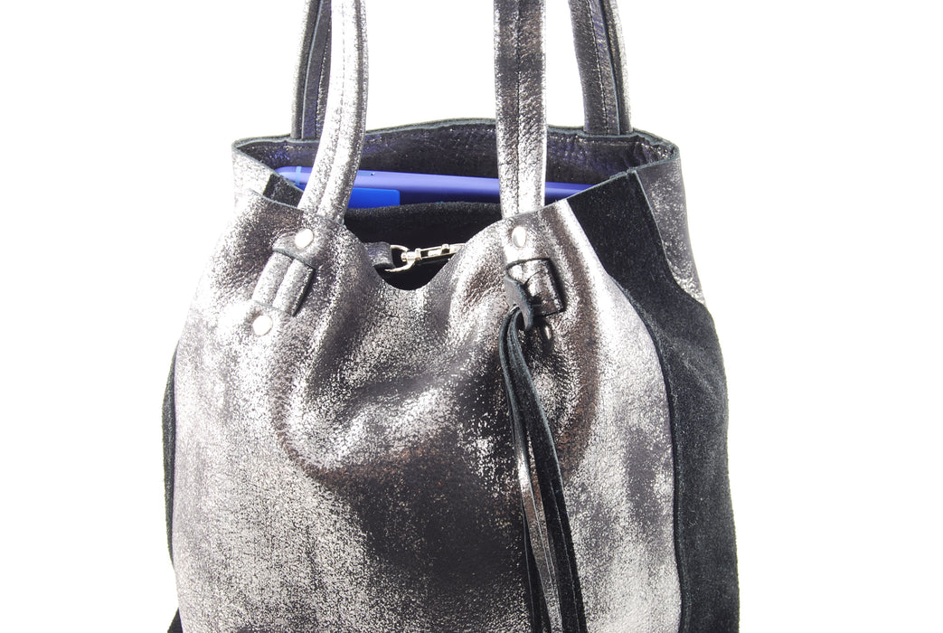 Scout Midnight Navy Sparkle - Tote Bag - Lara B. Designs, Inc.