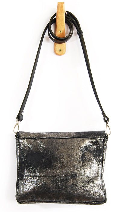 Emma Black Platinum - Crossbody - Lara B. Designs, Inc.