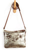 Emma Messenger Brown Platinum - Crossbody - Lara B. Designs, Inc.