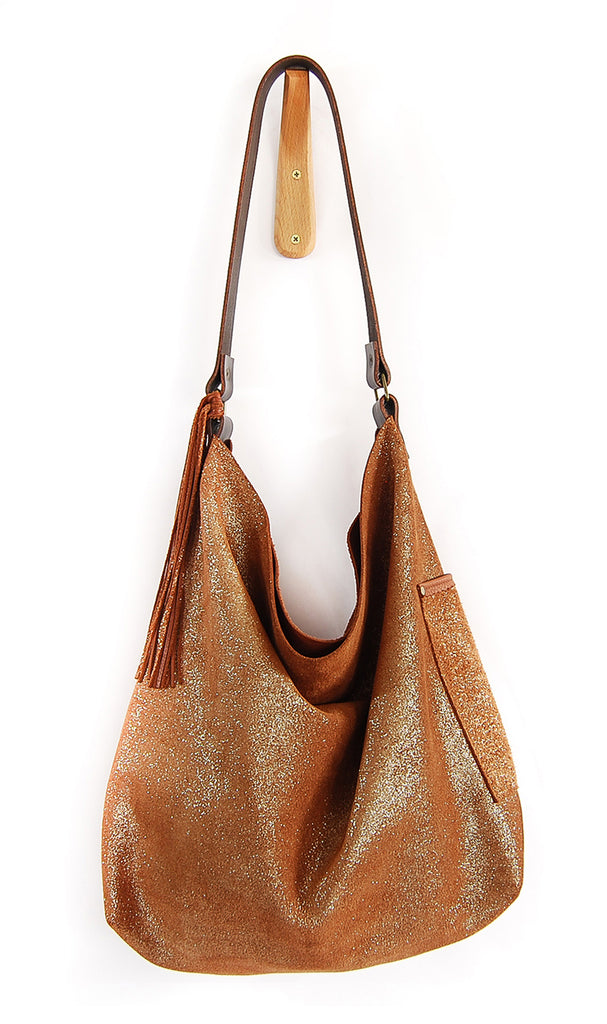Febe Hobo Brandy Sparkle - Tote Bag - Lara B. Designs, Inc.