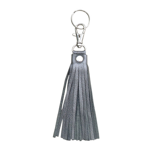 Fringe Tassel Key Chain Gunmetal - Key Chains - Lara B. Designs, Inc.