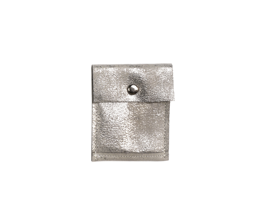 Minnie Silver Platinum - Pouch - Lara B. Designs, Inc.