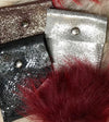 Minnie Oxblood Sparkle - Pouch - Lara B. Designs, Inc.