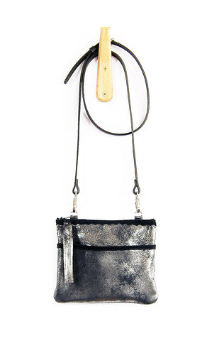 Venda Black Platinum - Crossbody - Lara B. Designs, Inc.