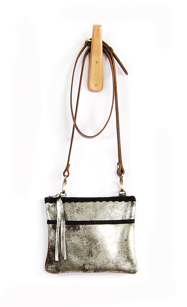 Venda Brown Platinum - Crossbody - Lara B. Designs, Inc.