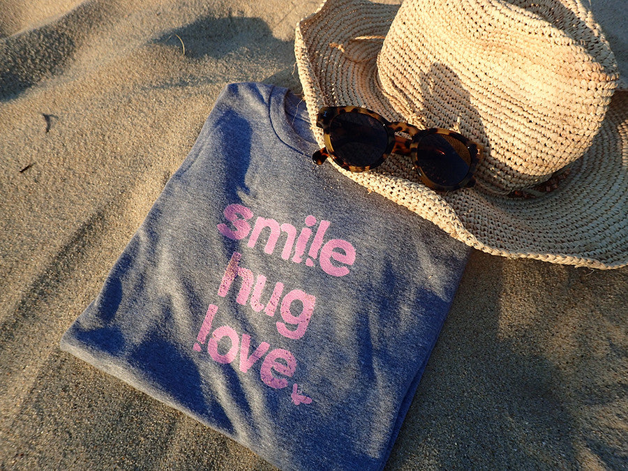 Smile, Hug, Love Tee - Lara B. Designs, Inc.