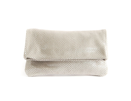 Alexa Sparkle Snake - Fold Over Clutch - Lara B. Designs, Inc.