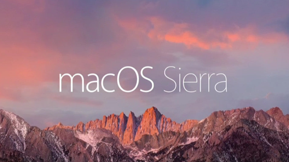 macOS Sierra update available!
