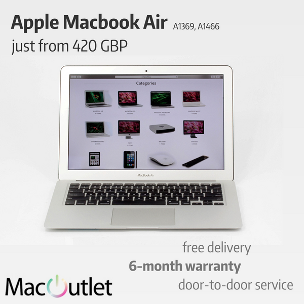 Refurbished Apple Macbook Air