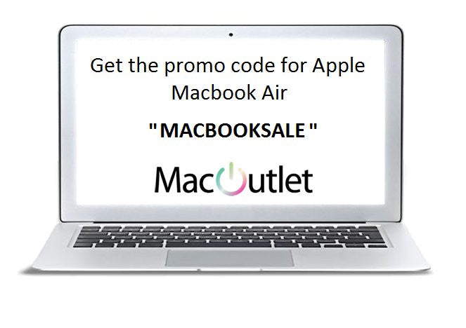 Apple Macbook Air promo code