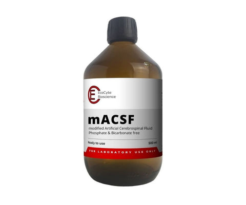mACSF - modified Artificial Cerebrospinal Fluid (500 ml) - Ready to use