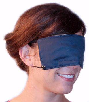 I Can Sleep...™ Midnight Blue Organic Cotton Eye Shade