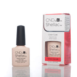 CND Shellac UV Nail Polish - Naked Naivete 7.3ml - Love This Colour  - 2
