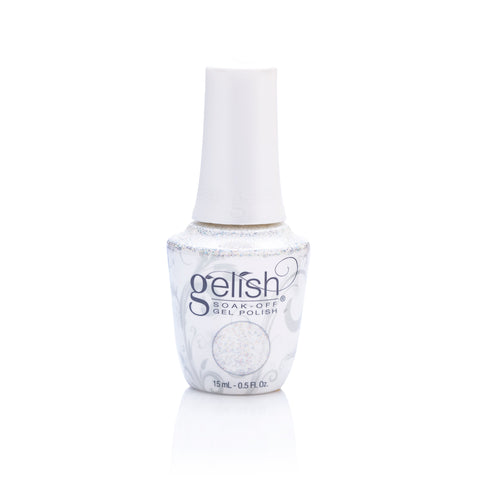 Harmony Gelish Soak Off Nail Polish - Silver In My Stocking 15ml