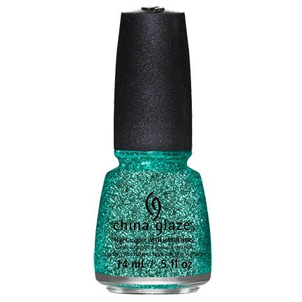 China Glaze Nail Lacquer 14ml - Pine-Ing For Glitter - Love This Colour