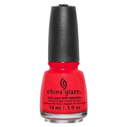 China Glaze Nail Lacquer 14ml - The Heat Is On - Love This Colour